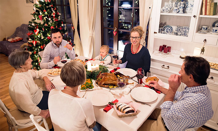 Cómo manejar a la familia en navidades