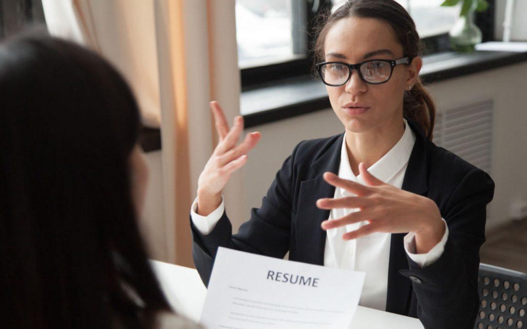 Miedo a las entrevistas de trabajo: evita bloquearte.